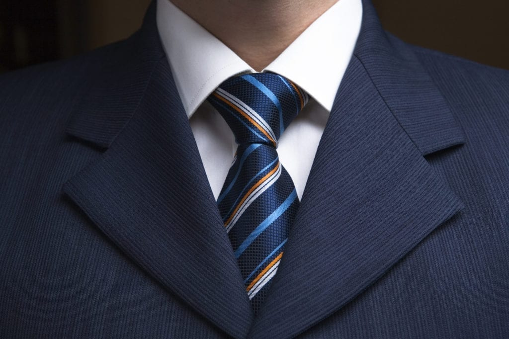 Men's Tie Styles: The Four-In-Hand Knot