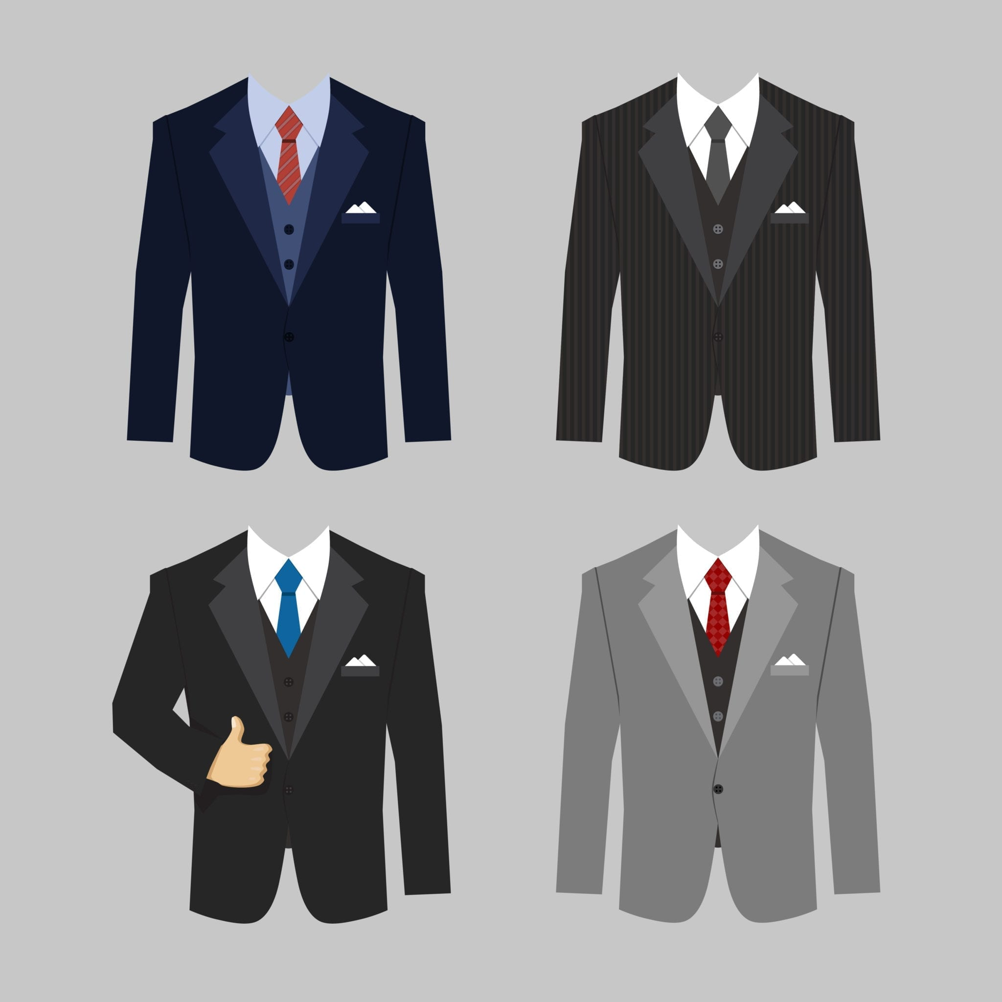 Men's Suit Jacket Styles
