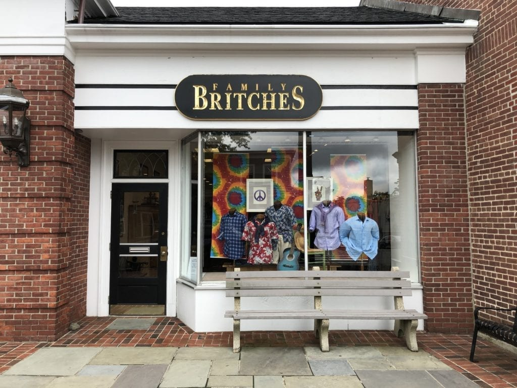 Family Britches New Canaan storefront